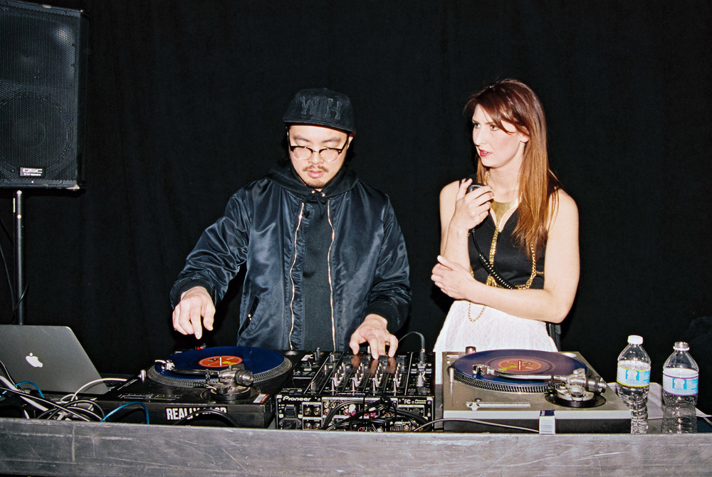 DJ Disoriental and Park founder Kara Chomistek
