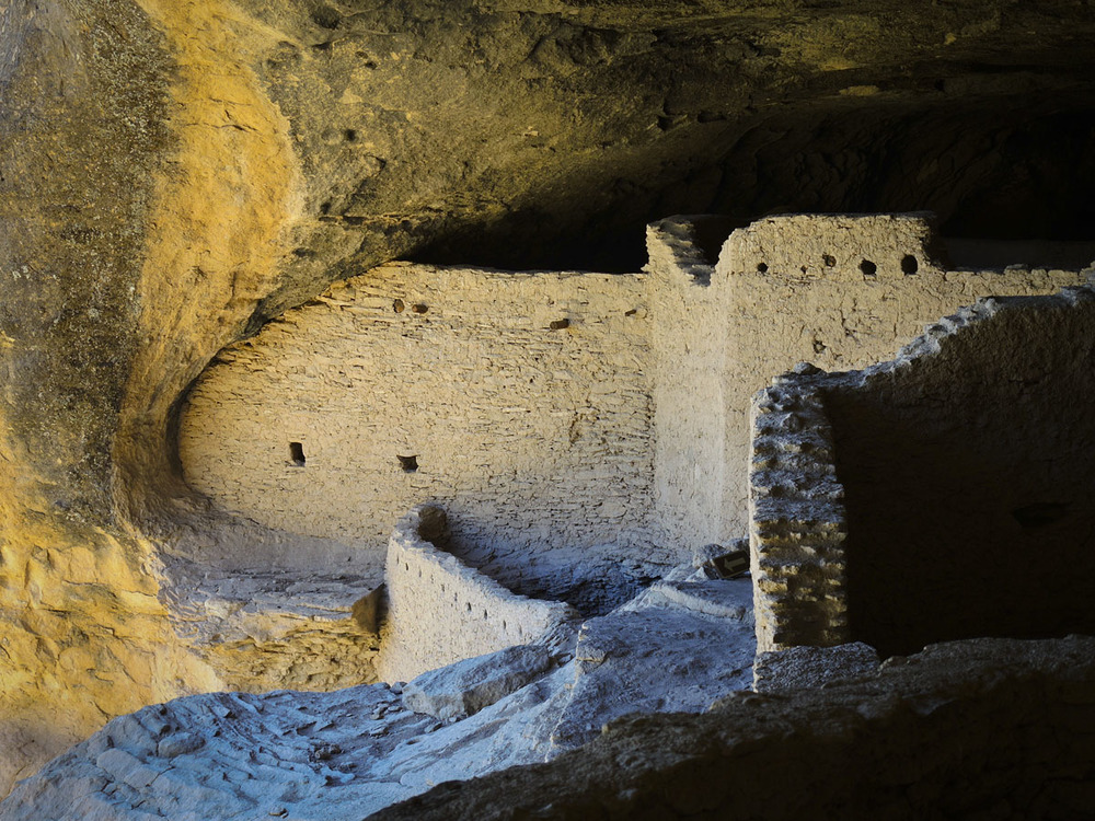 Gila Flip - Gila Cliff Dwellings, New Mexico © 2013 Skip Hunt
