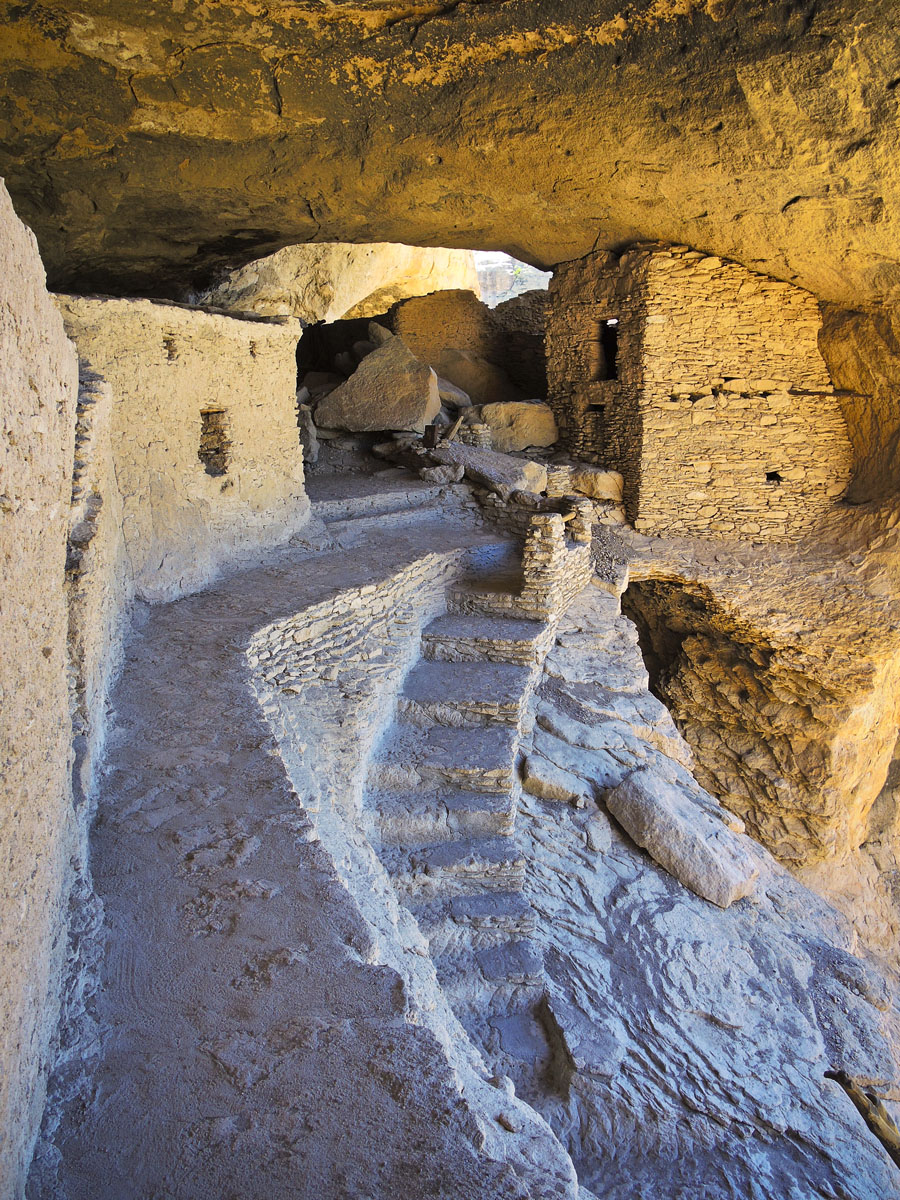 Gila Condo - Gila Cliff Dwellings, New Mexico © 2013 Skip Hunt