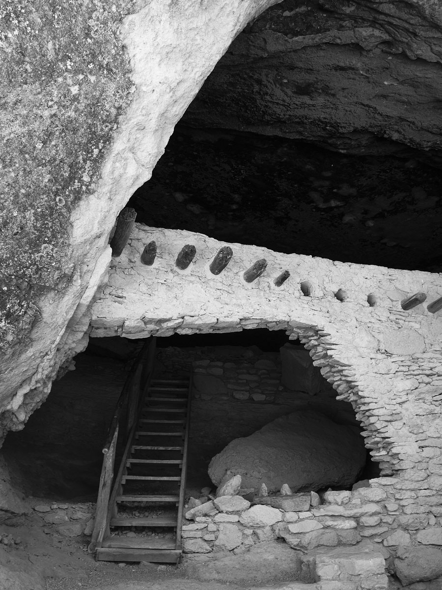 Gila Puerto - Gila Cliff Dwellings, New Mexico © 2013 Skip Hunt