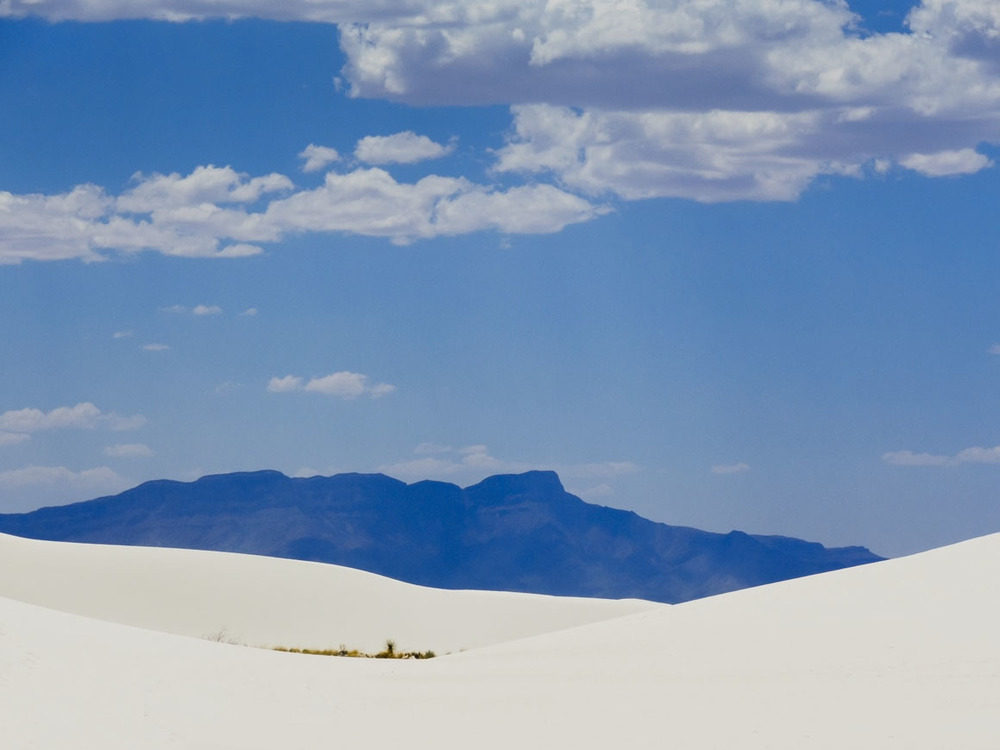 Intrusion - White Sands, New Mexico © 2013 Skip Hunt