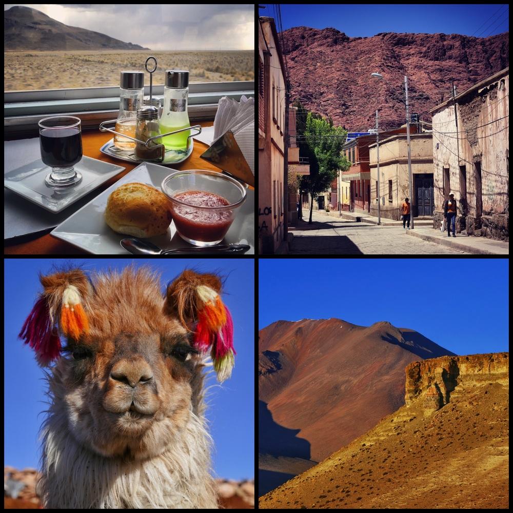 Train Oruro to Tupiza + Tupiza + Llama + Salar Tour Landscape