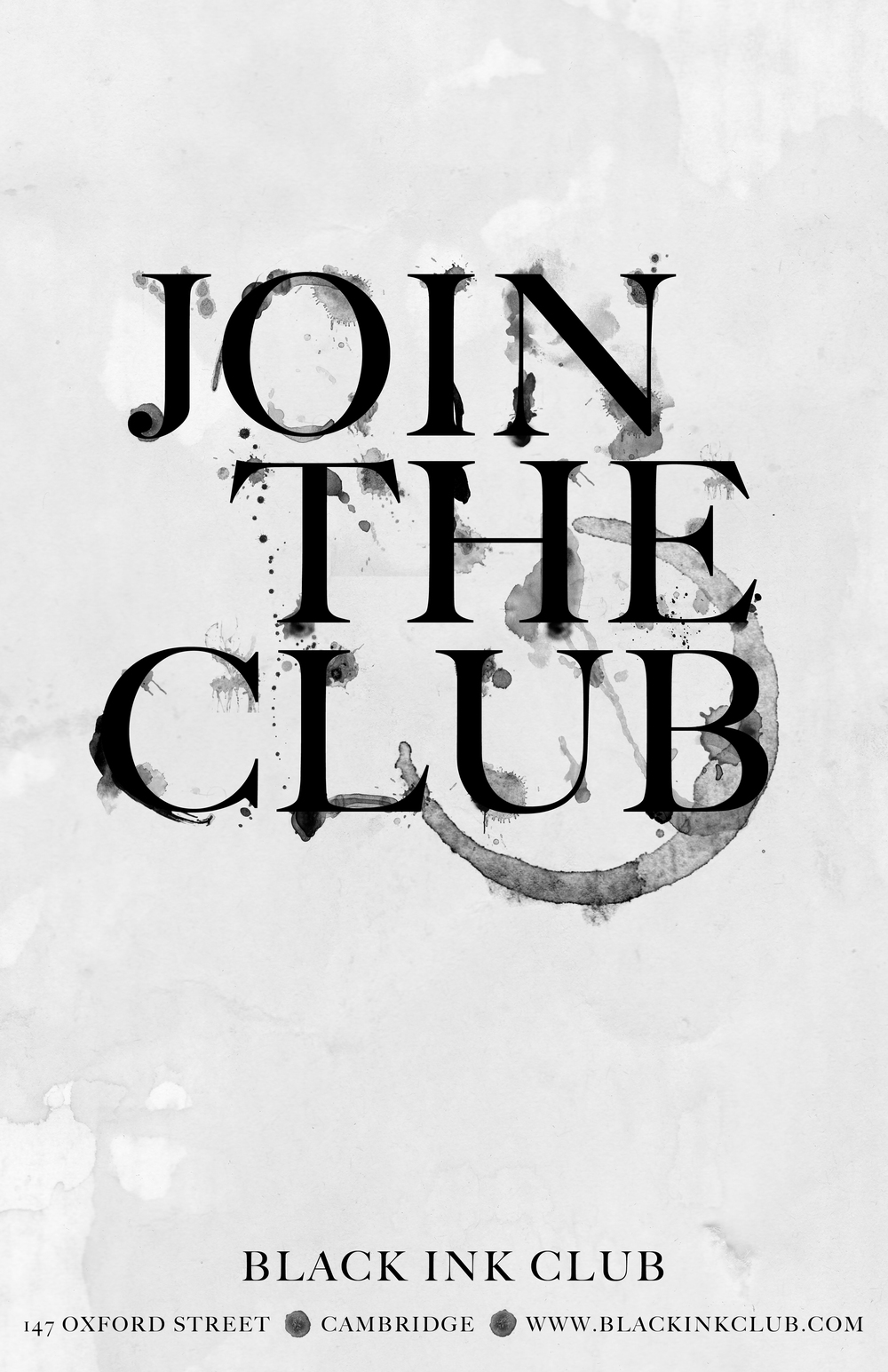club advertisement prototype