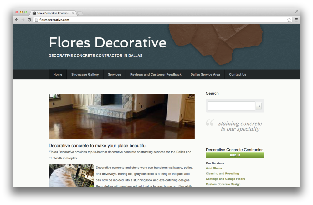 Flores Decorative