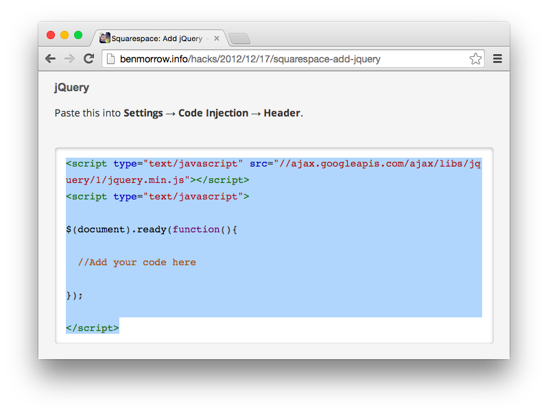 squarespace-select-highlight-click-code
