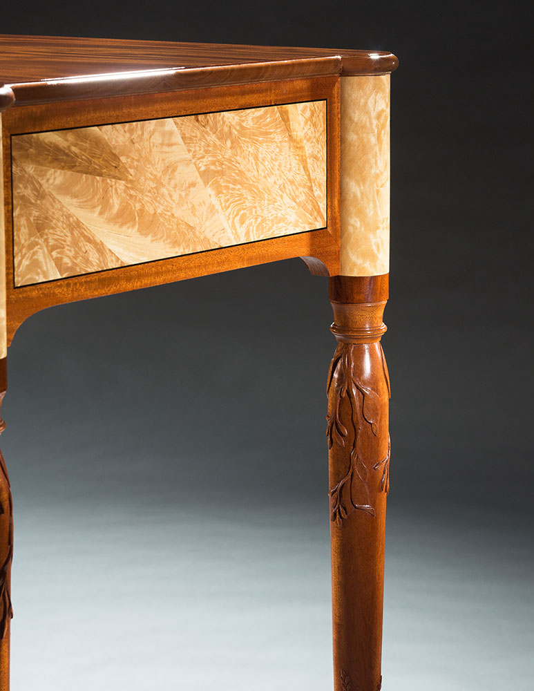 Hopkinton serving table detail