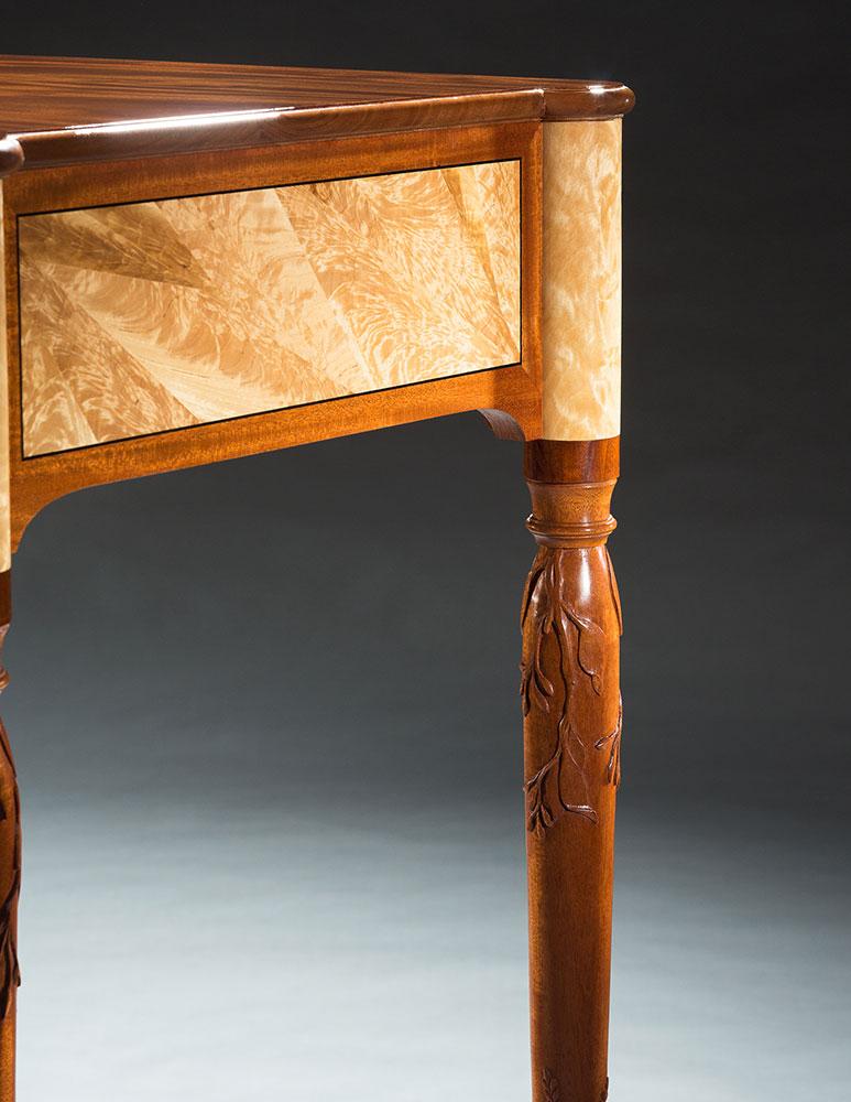 Hopkinton serving table detail