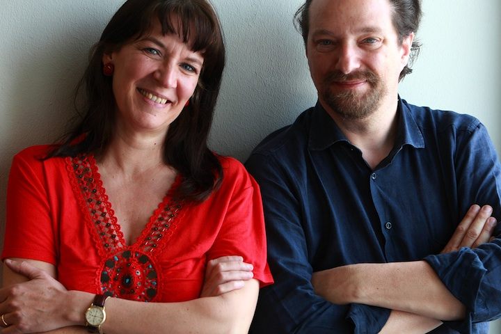 Elisabetta Tosi and Giampiero Nadali