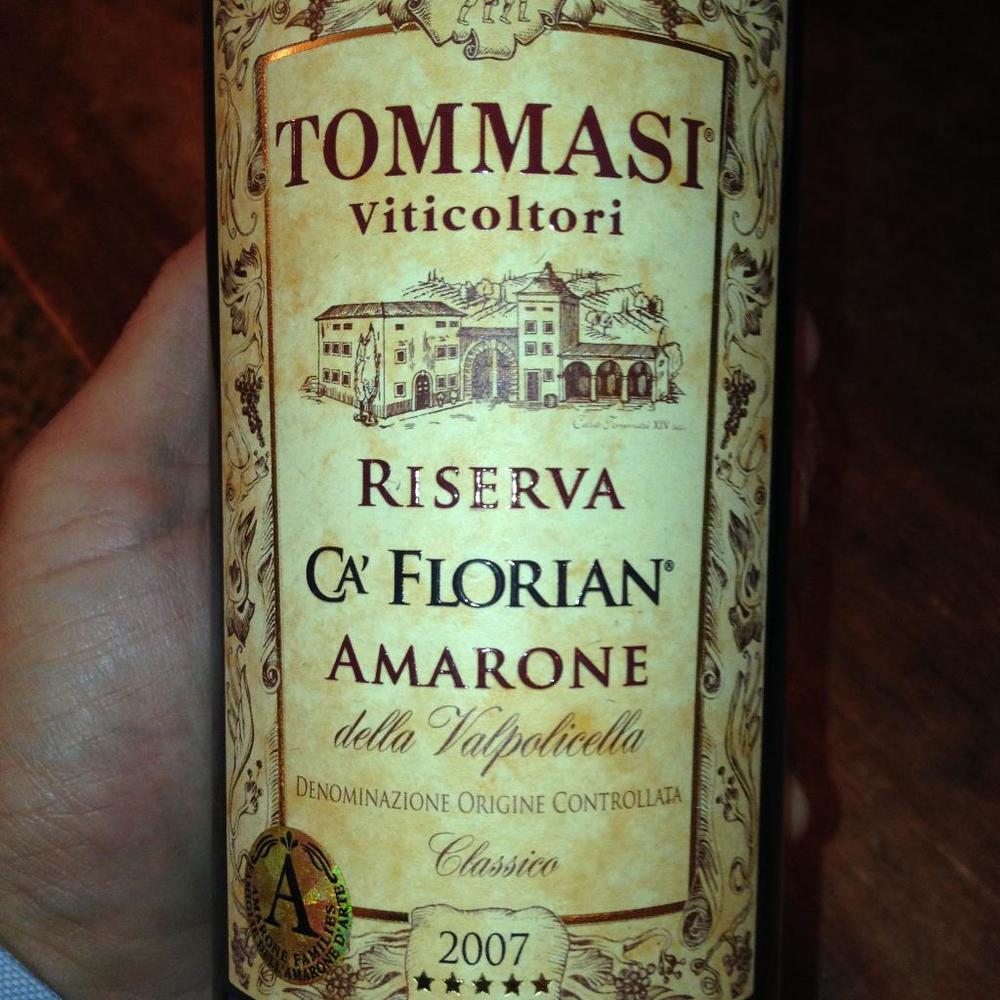 Tommasi Amarone Riserva Ca Florian 2007.JPG