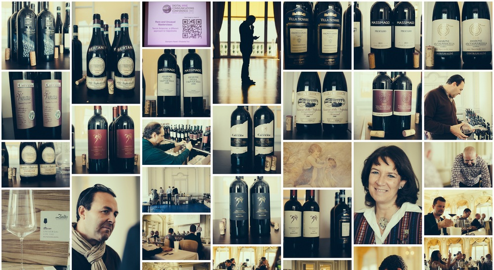 Some images of the Amarone & Valpolicella Masterclass - to browse this gallery click on the image and go to Ricardo Bernardo's link