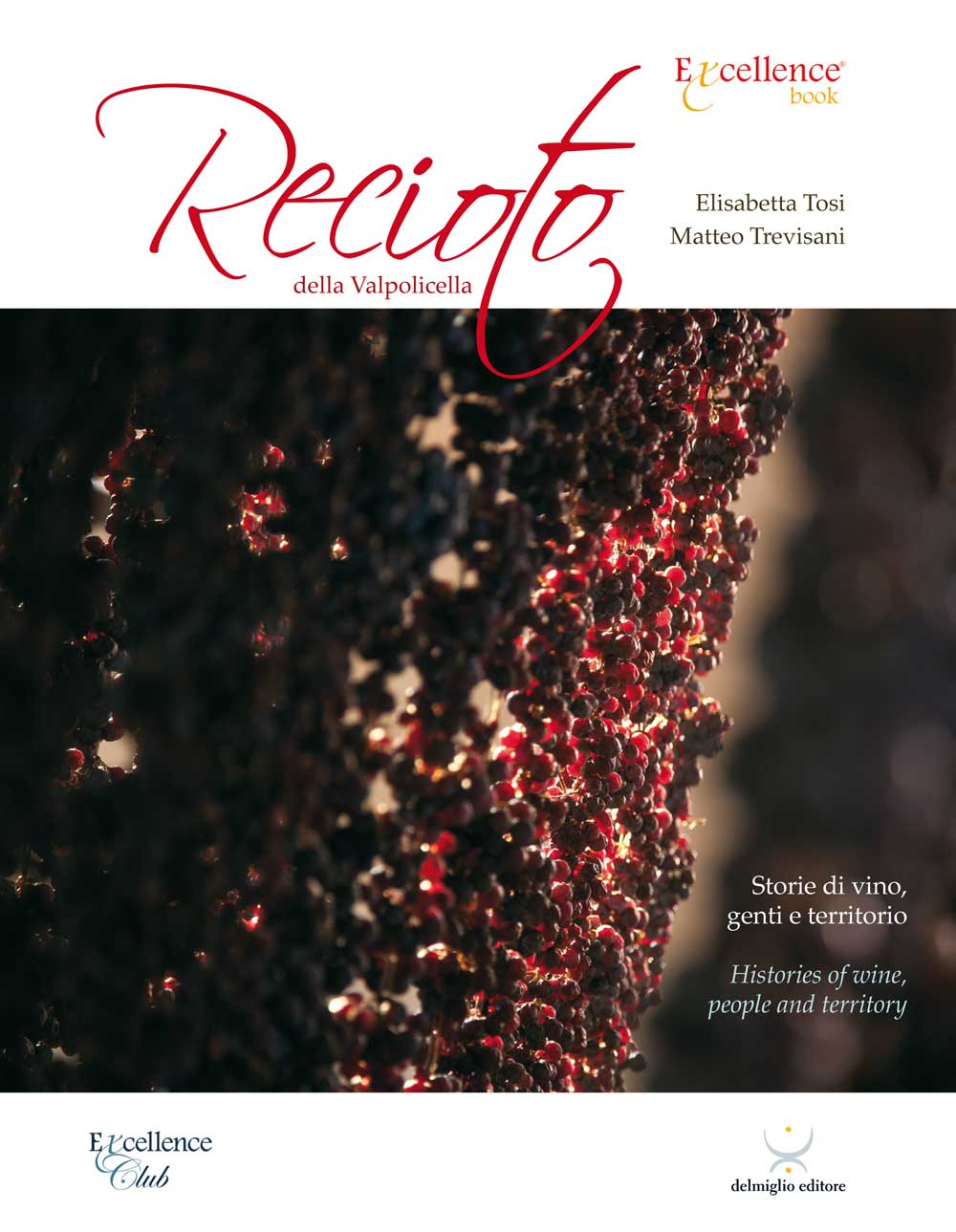 The front cover of the new book dedicated to the Recioto della Valpolicella