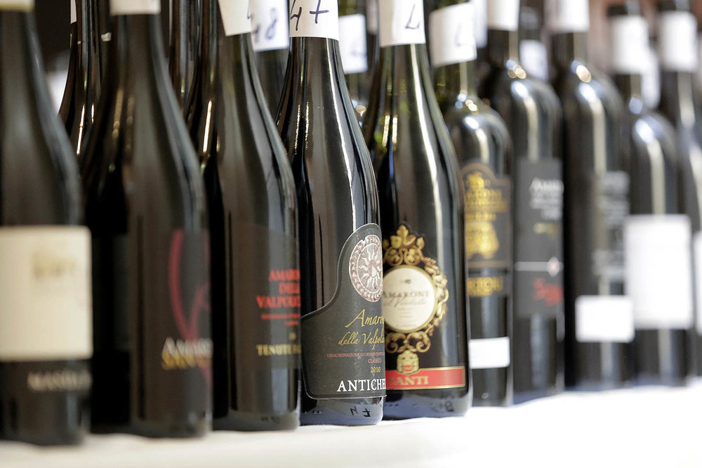 Amarone della valpolicella wine bottles - photo courtesy of consorzio valpolicella