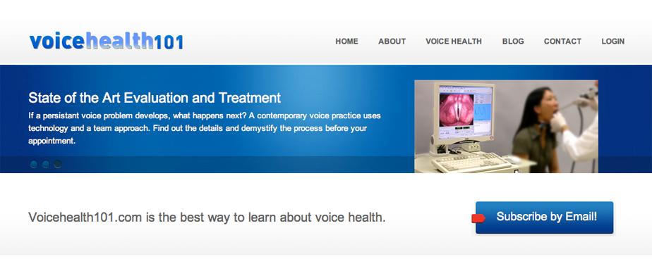 Voice Health 101