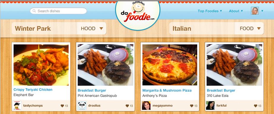 Dafoodie App