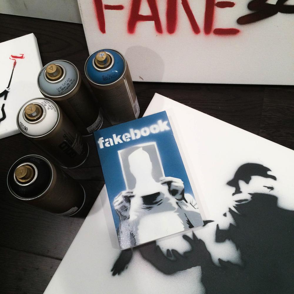 #fakebookbanksy