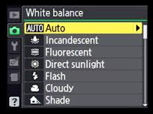 Change the White Balance from the Auto Preset, to the Incandescent.