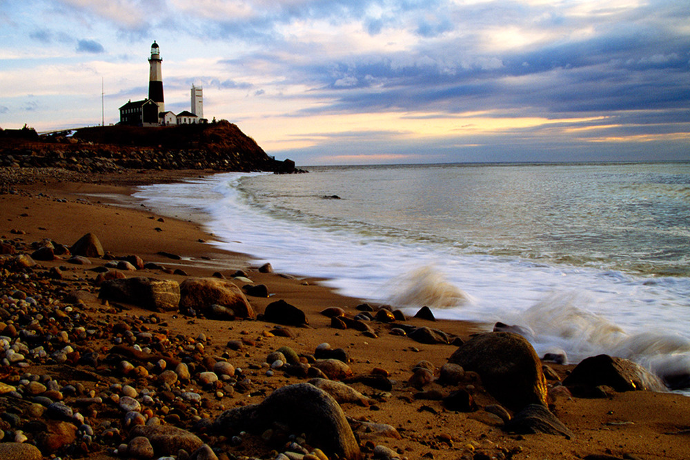 Montauk Lighthouse, shot on Fuji Velvia 50 Film