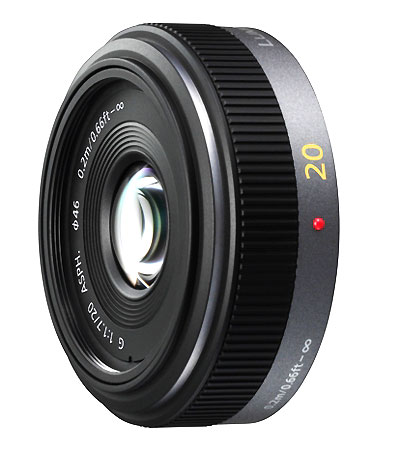 20mm pancake lens