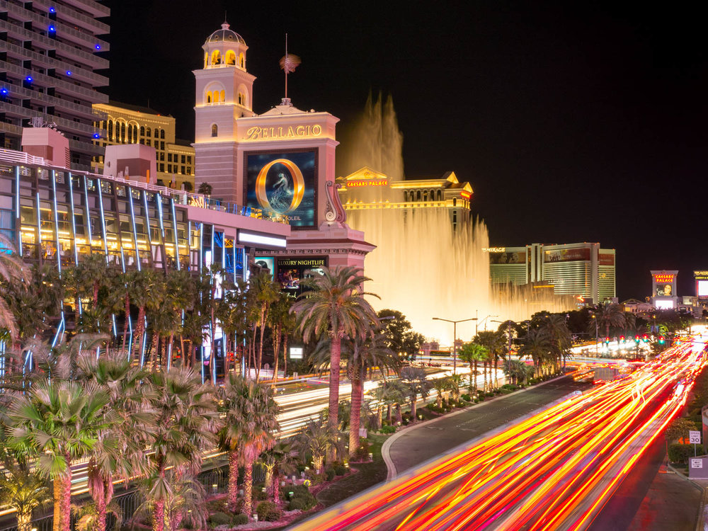 Las Vegas Strip - Captured with Olympus OMD EM1 and 12-40mm f2.8