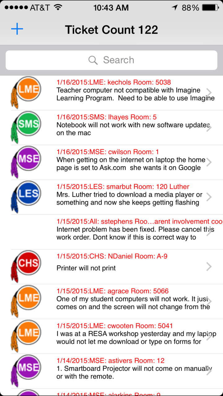 Help Desk iOS App