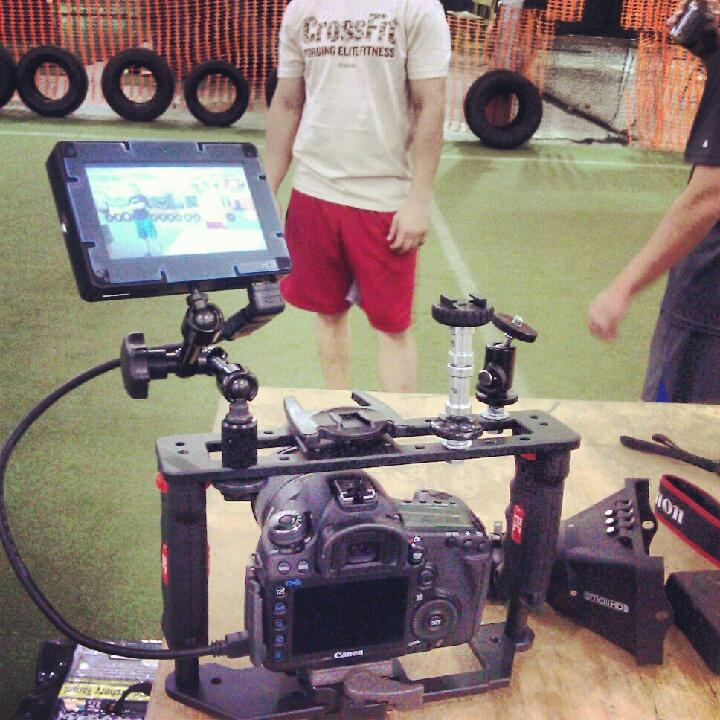Gearbox GB-1 with smallHD DP4
