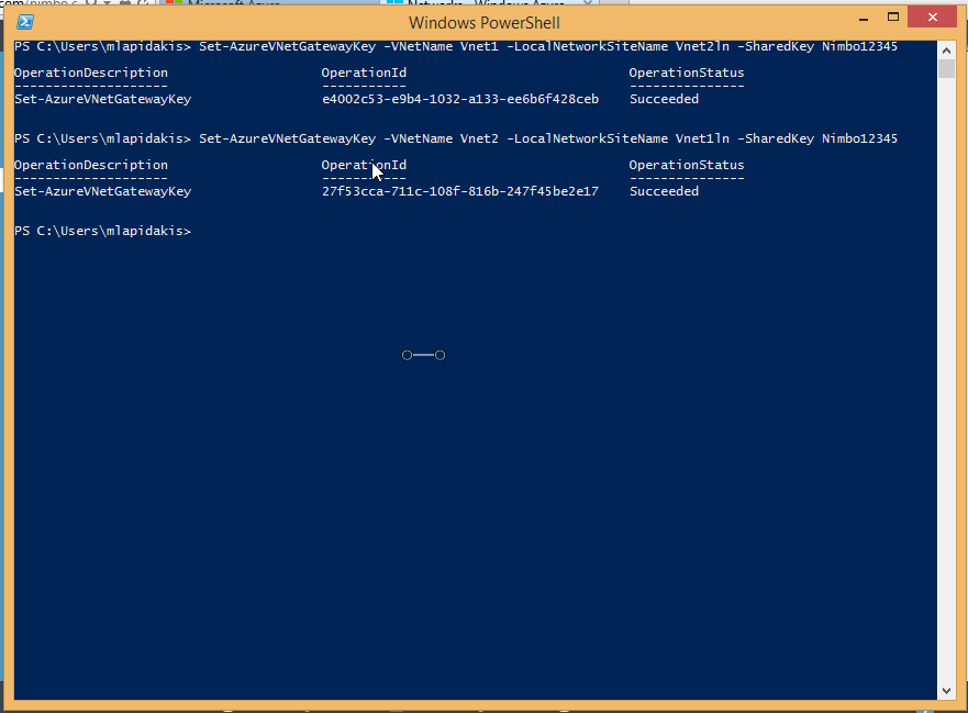 Step 7: PowerShell Pre-shared Key