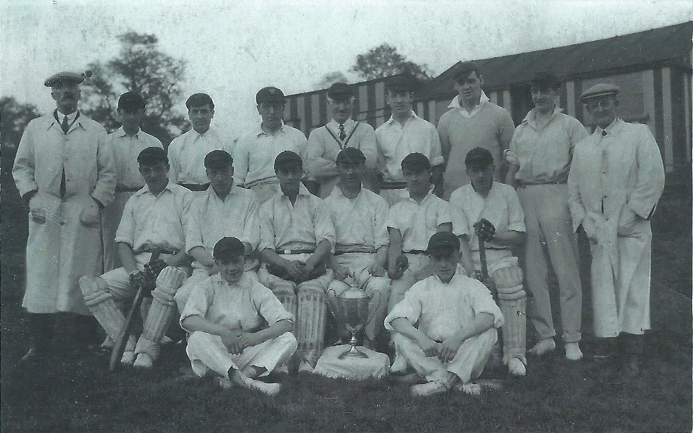 1927 - Hill End CC - League Champions