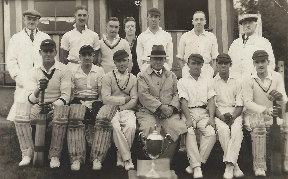 1934 - Hill End CC - League Champions