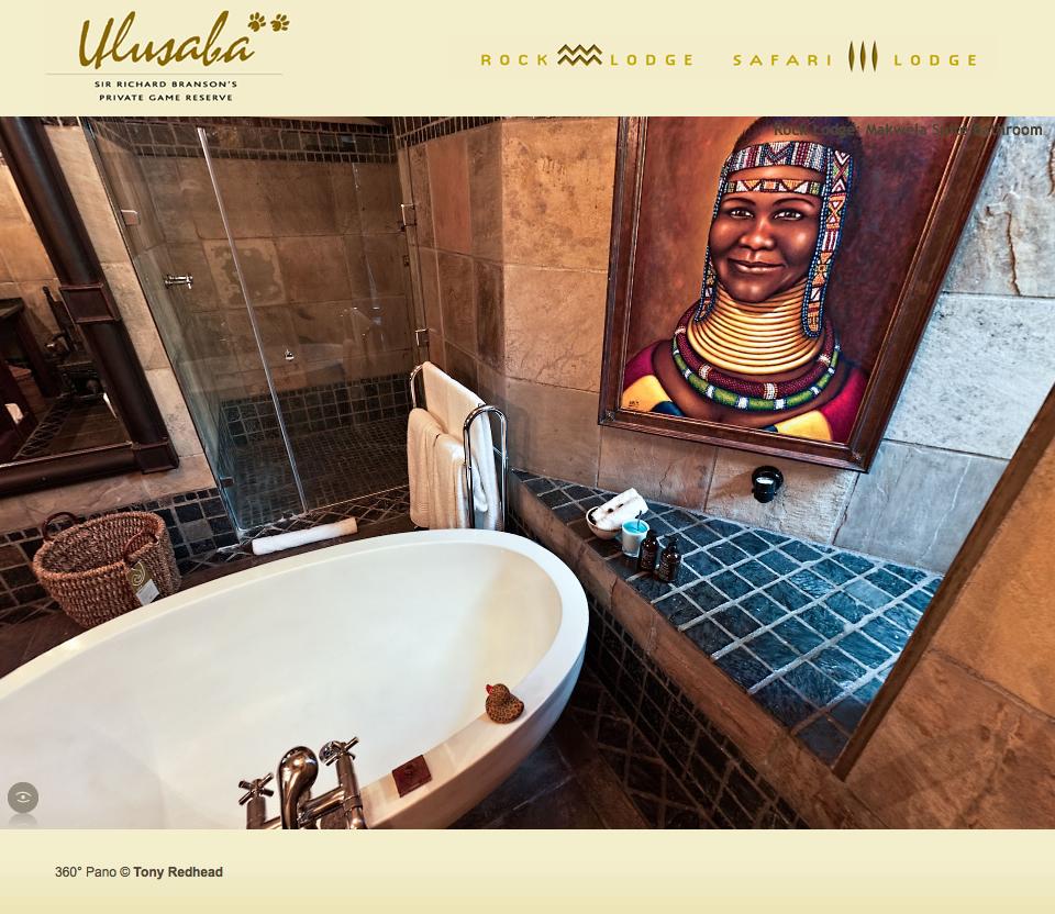 African Adventure - Ulusaba 360º  Panorama Tour