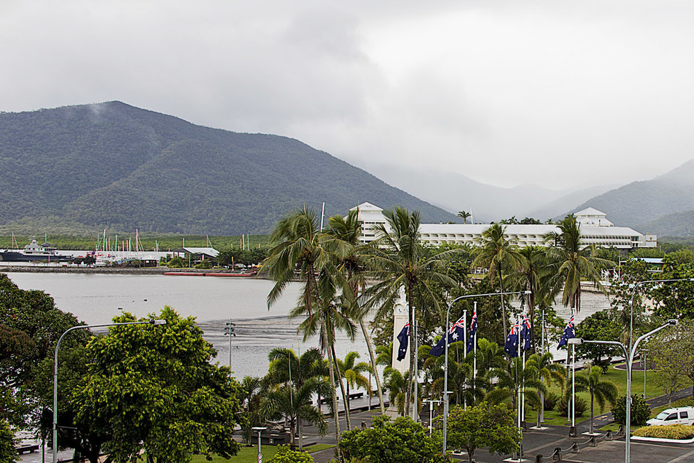 View of Cairns from the Holiday Inn