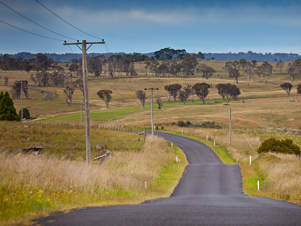 Classic countryside around Armidale