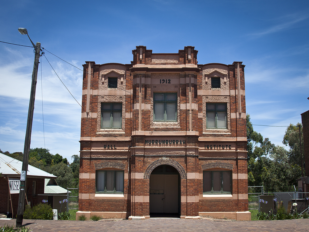 Murrunburrah Mechanics Insitute Hall