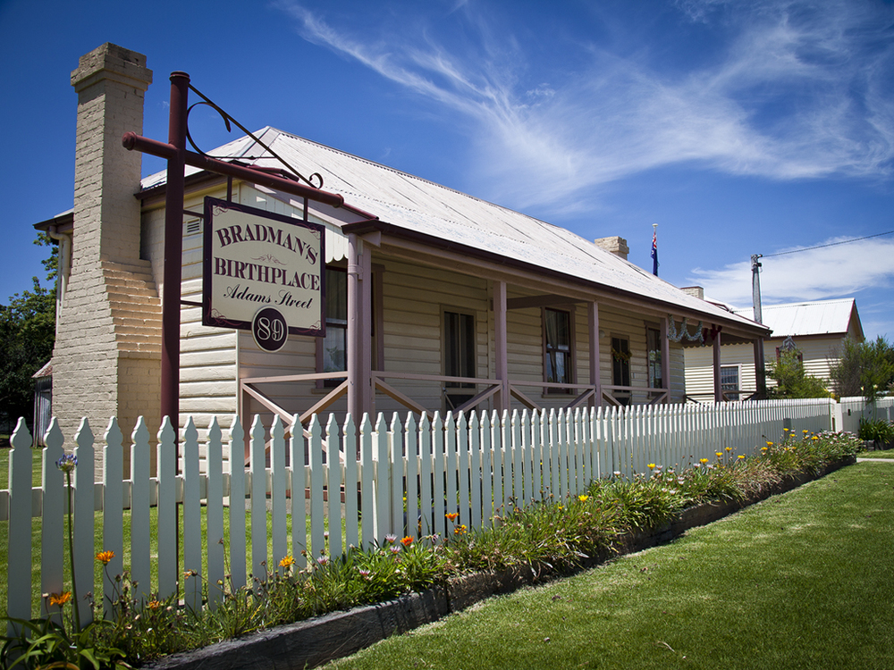 Don Bradman's birthplace