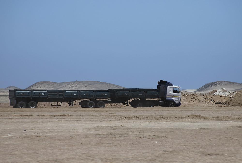 Salt Pan Truck