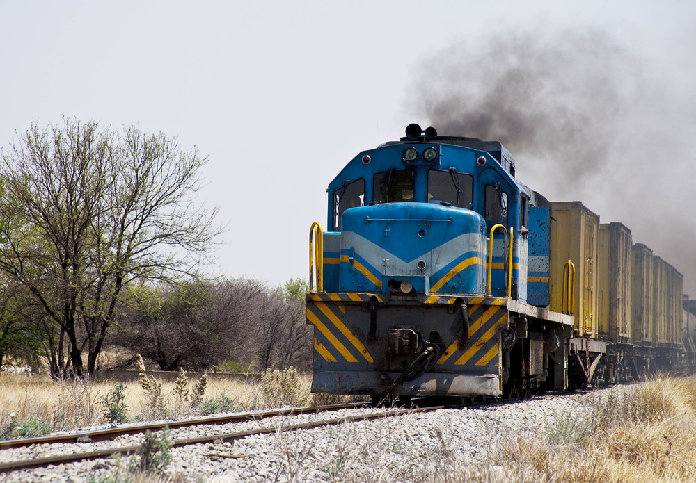 Namibian Goods Train
