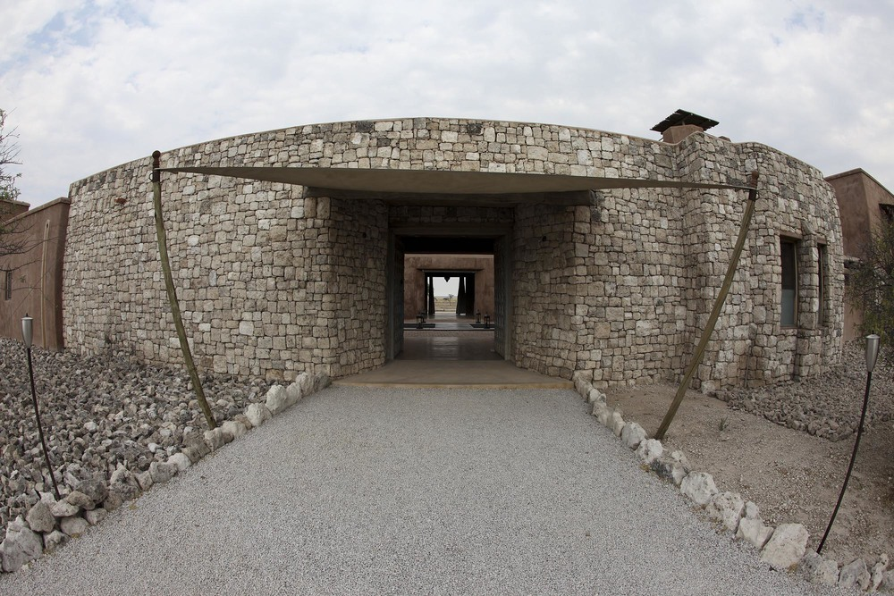 The main entrance for the Fort)