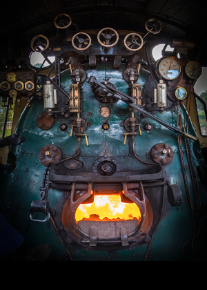 "Pichi Richi Railway -W22 ""Justin Hancock"" locomotive"