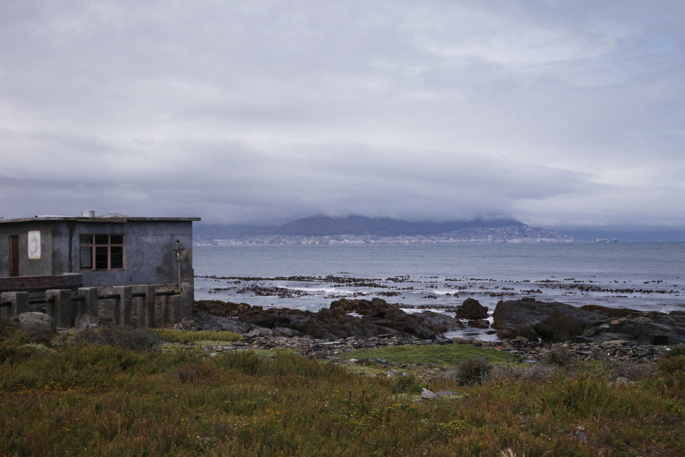 View from Robben Island looking back to Cape Town