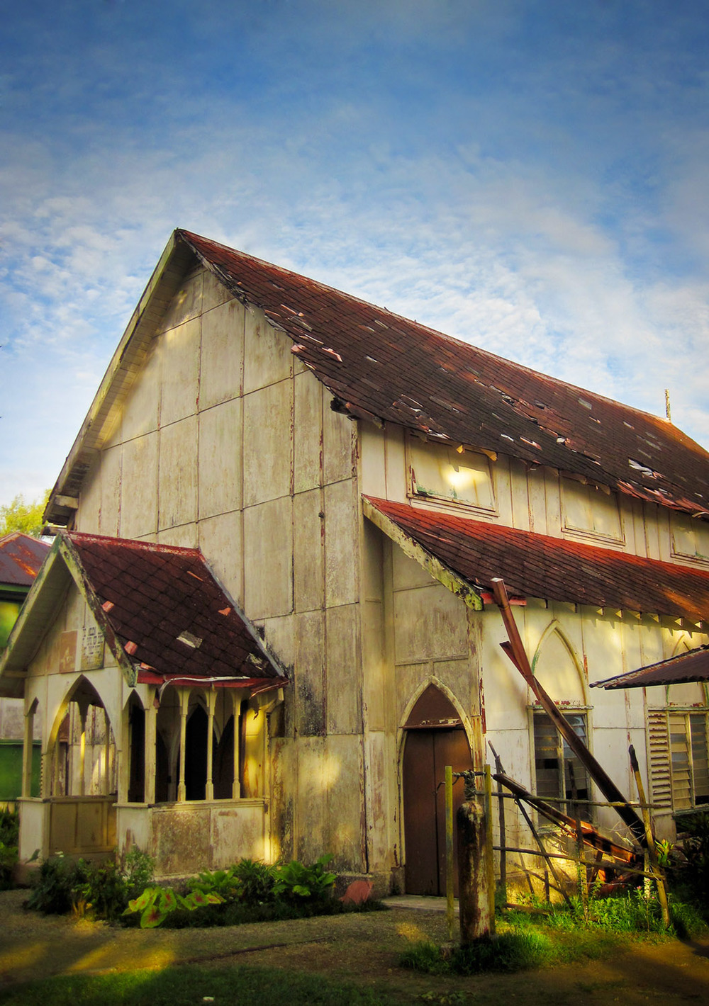 Anglican Church, Samarai