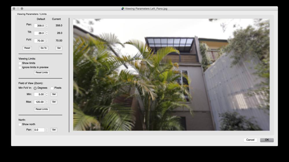 viewing-parameters