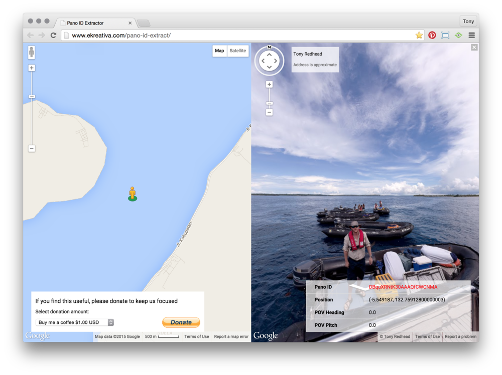 Google + & GMaps — tony redhead