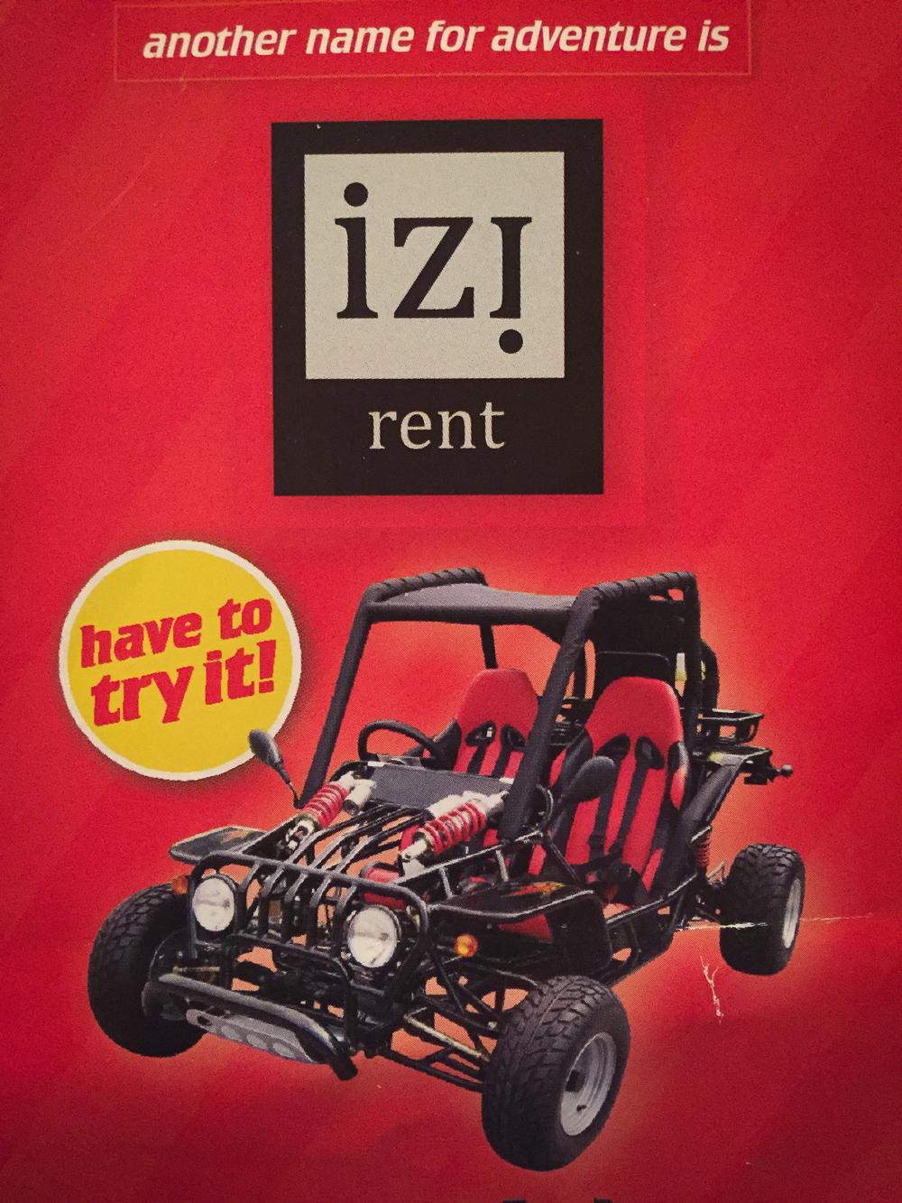 IZI Brochure cover
