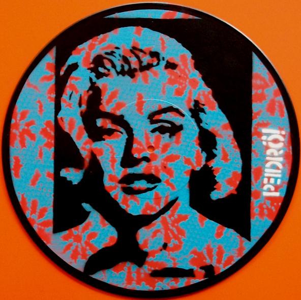 One of Pedrô's Marilyn Vinyl's