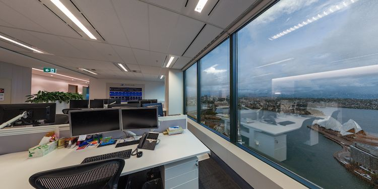 New: Level 46 - Pacific Life Office Fitout