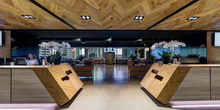 1 Margaret Place: Dexus Lobby