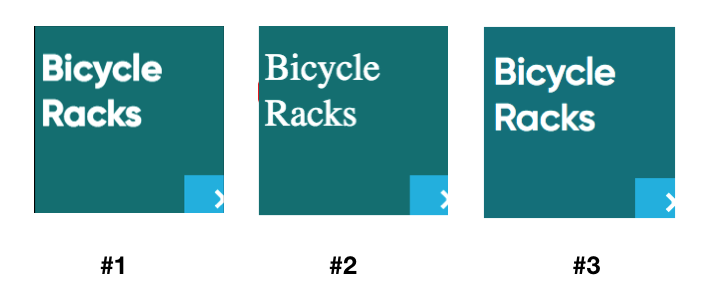 Sample renderings across browsers