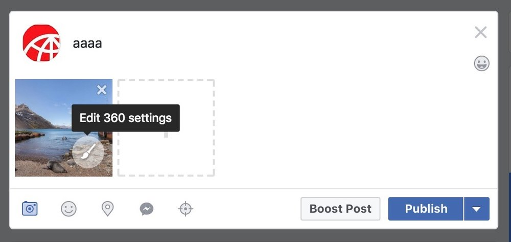 Figure #7 - Edit 360 settings link