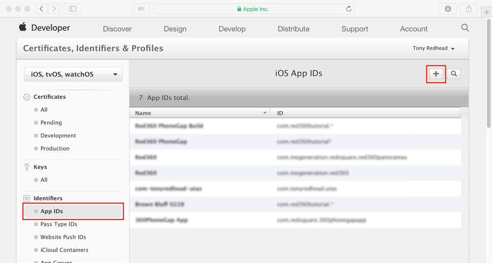 figure #33: App IDs