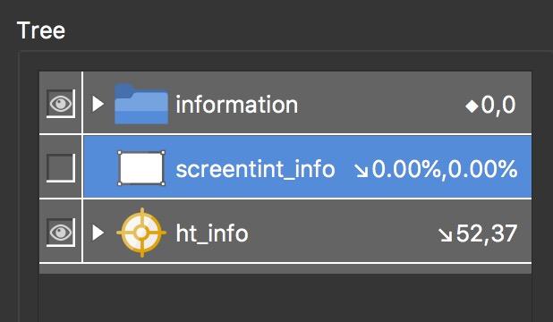 Figure #25: Delete screentint_info