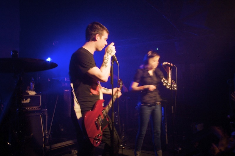 Shiny Toy Guns, one of my favourite (&earliest gigs). Through all its faults, I absolutely love this photo
